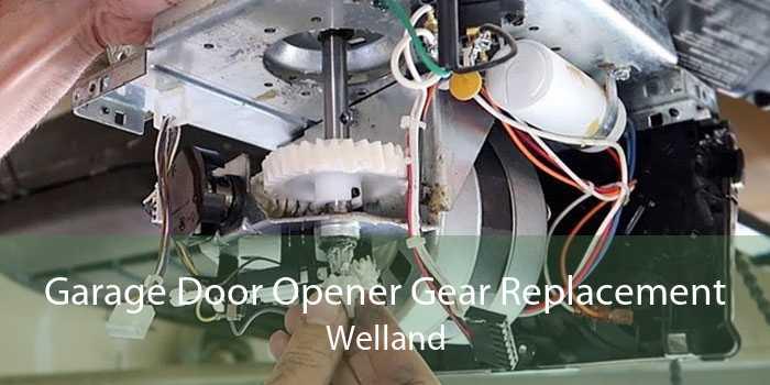 Garage Door Opener Gear Replacement Welland